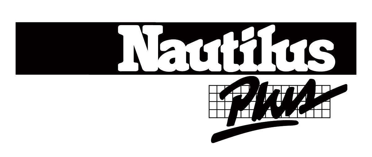 Logo Nautilus Plus Noir et blanc