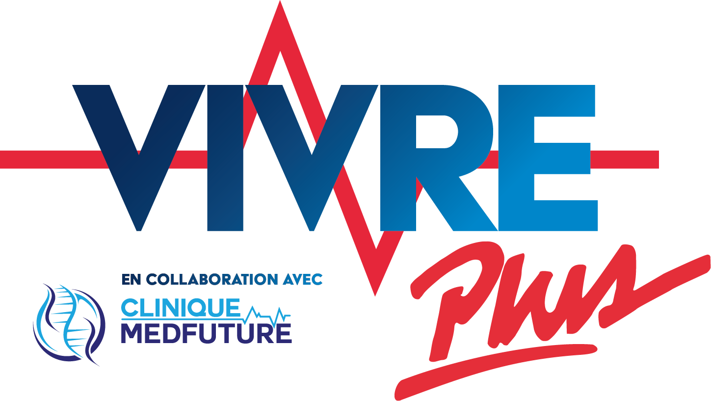 Logo Vivre plus en collaboration avec MedFuture