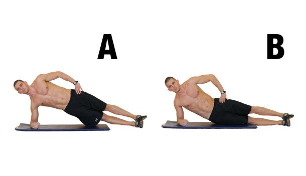 6-pack - Planche latérale