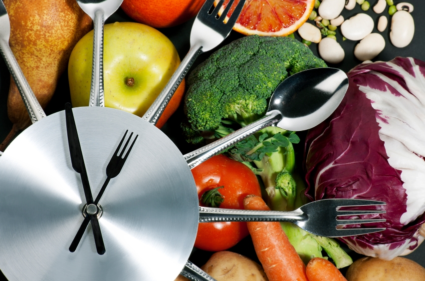 Food clock_iStock_000016986477Small
