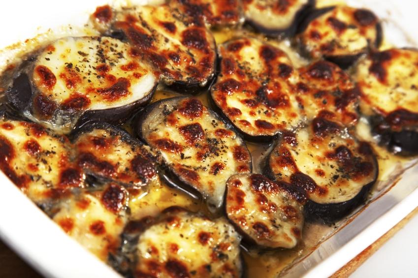 Eggplant with mozzarella_iStock_000015391496Small