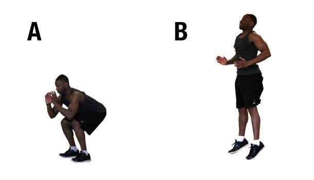Build your legs - Jump squat