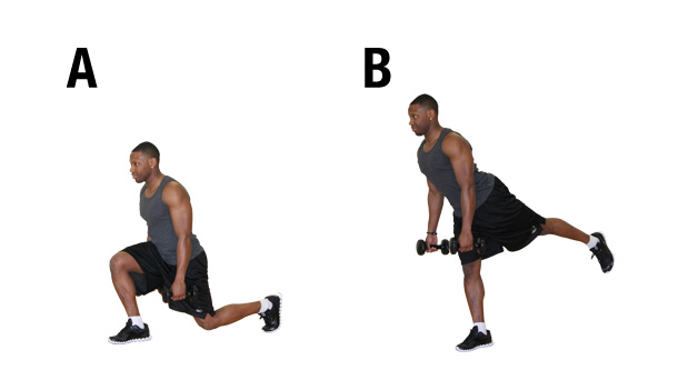 Build your legs - lunges