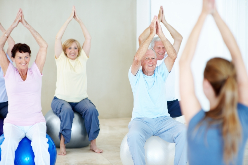 Keeping fit and young at heart_iStock_000020491121Small