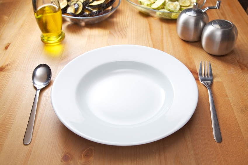 Empty plate_iStock_000013274057Small