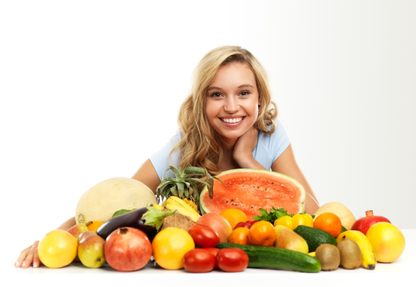 Fresh fruits vegetables_iStock_000020960994Small