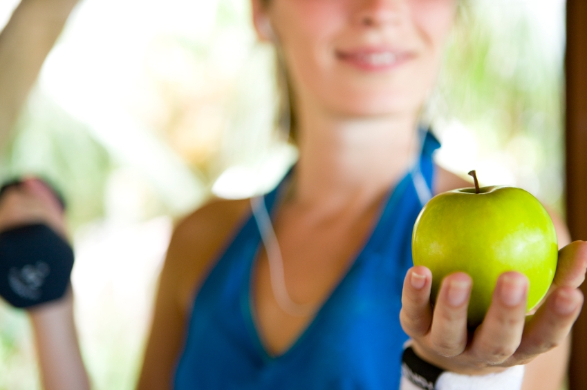 Healthy eating and exercise_iStock_000010458434Small