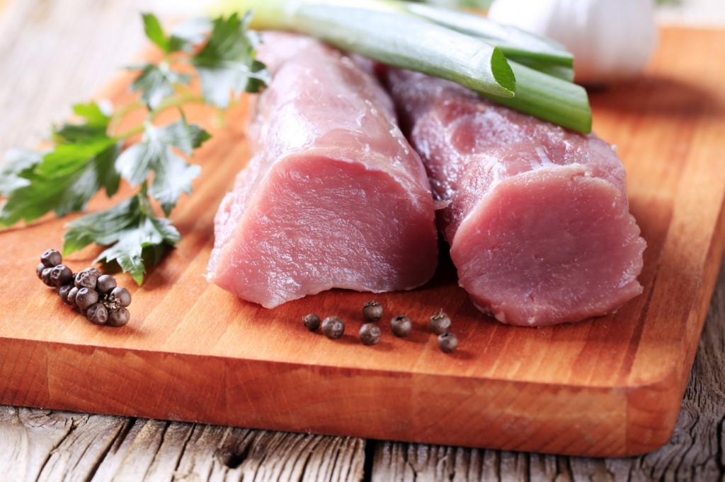 filet de porc poires et cheddar