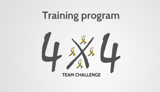 The official training program to prepare for the 4X4 Team Challenge