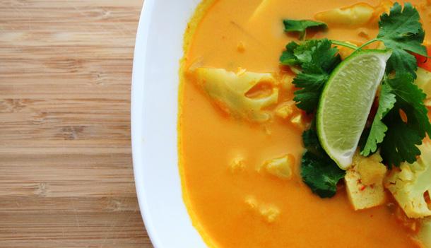 soupe tofu thai
