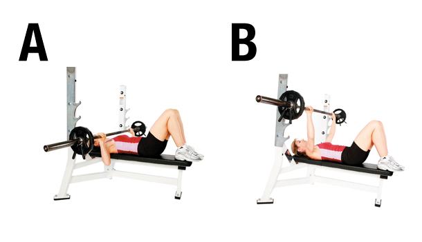 Programme initial pour la prise de masse musculaire - Programme prise de force developpe couche ...