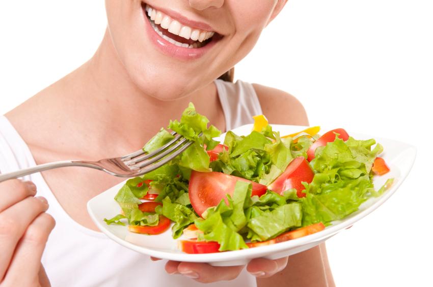 maigrir avec salade verte
