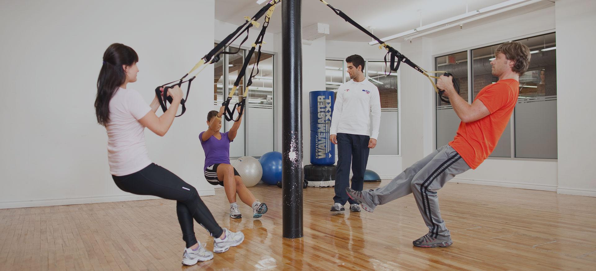 trx u00ae et exercises en suspension
