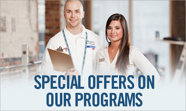 Special offers on our programs