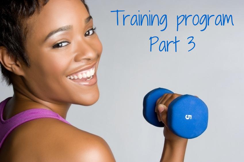 Traininf program part 3