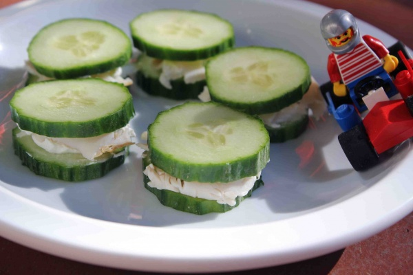 concombre et dinde