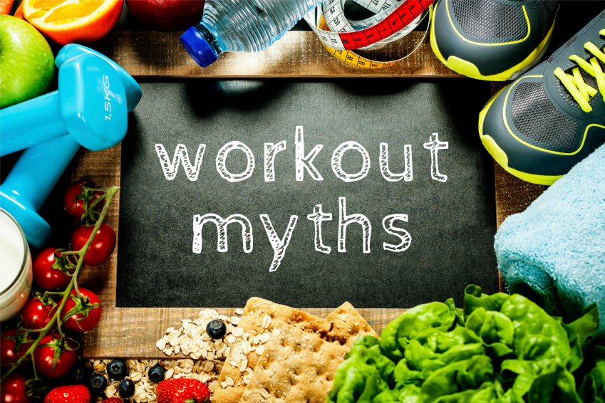 Before, during and after workout myths