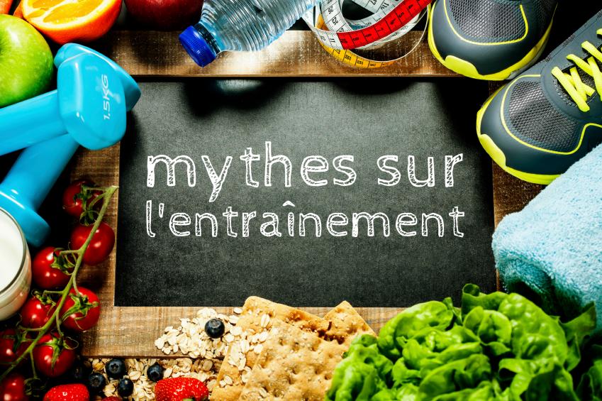Les mythes sur l'entraînement