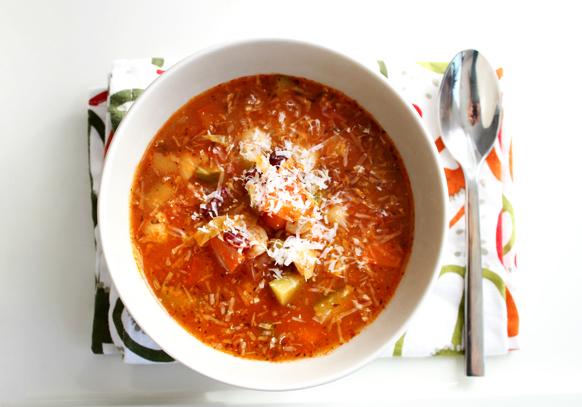 Les soupes et la perte de poids
