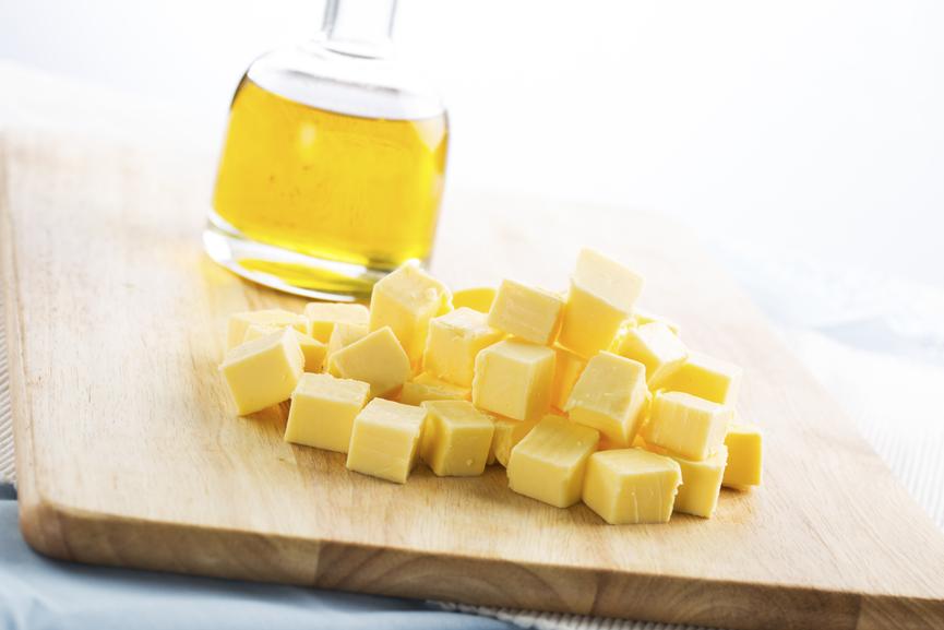 L'huile vs le beurre, lequel choisir?