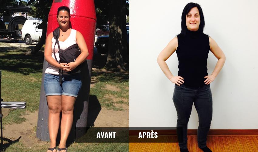 Transformation avant-après