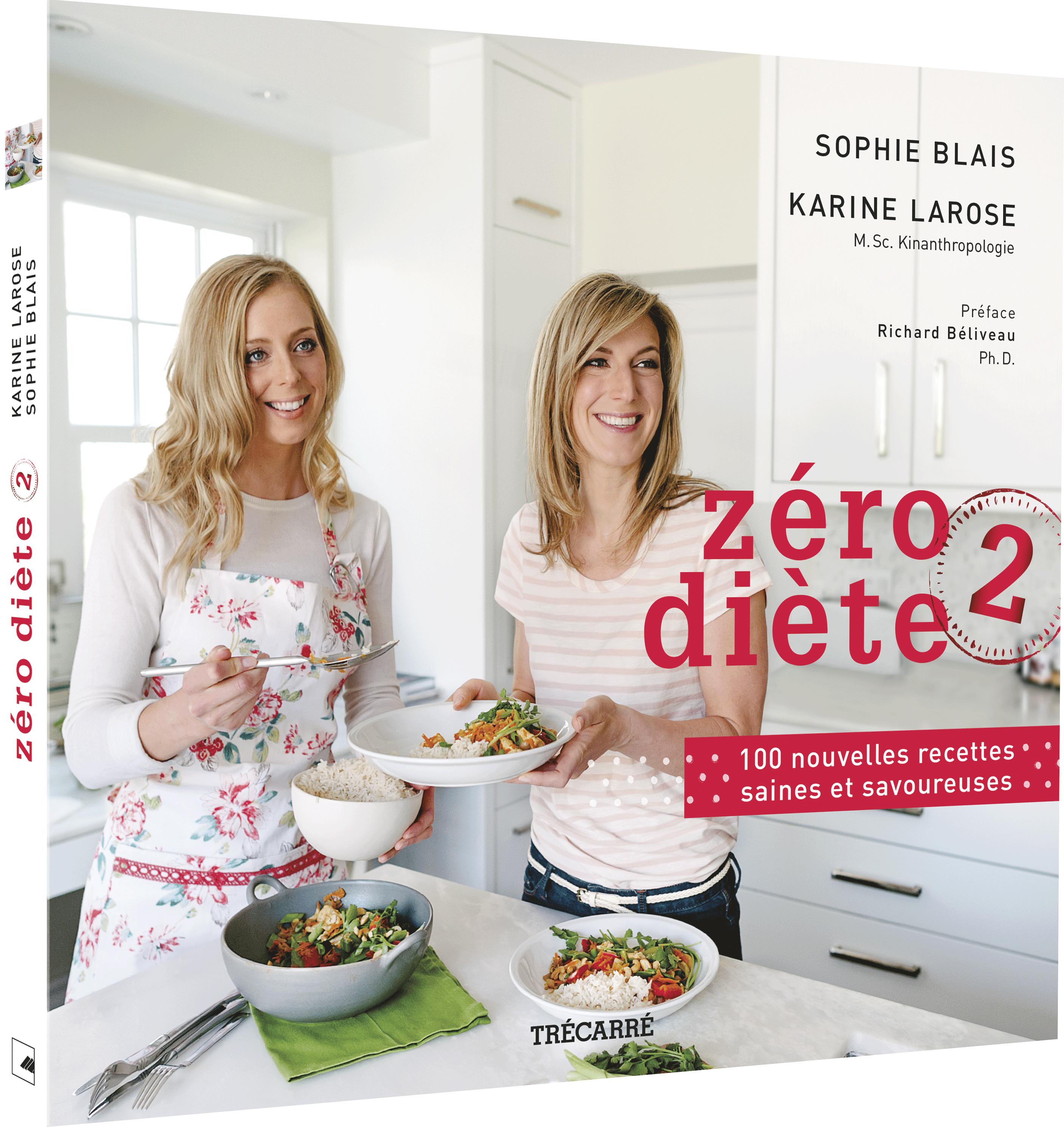 Le livre de recettes Zéro diète 2 : maintenant en vente!