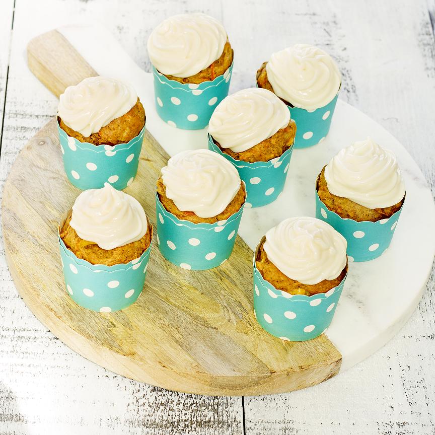Photo Cupcake carottes et ananas glacage au yogourt small