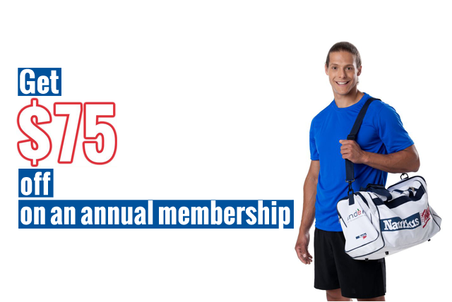 Save $75 on an annual membership