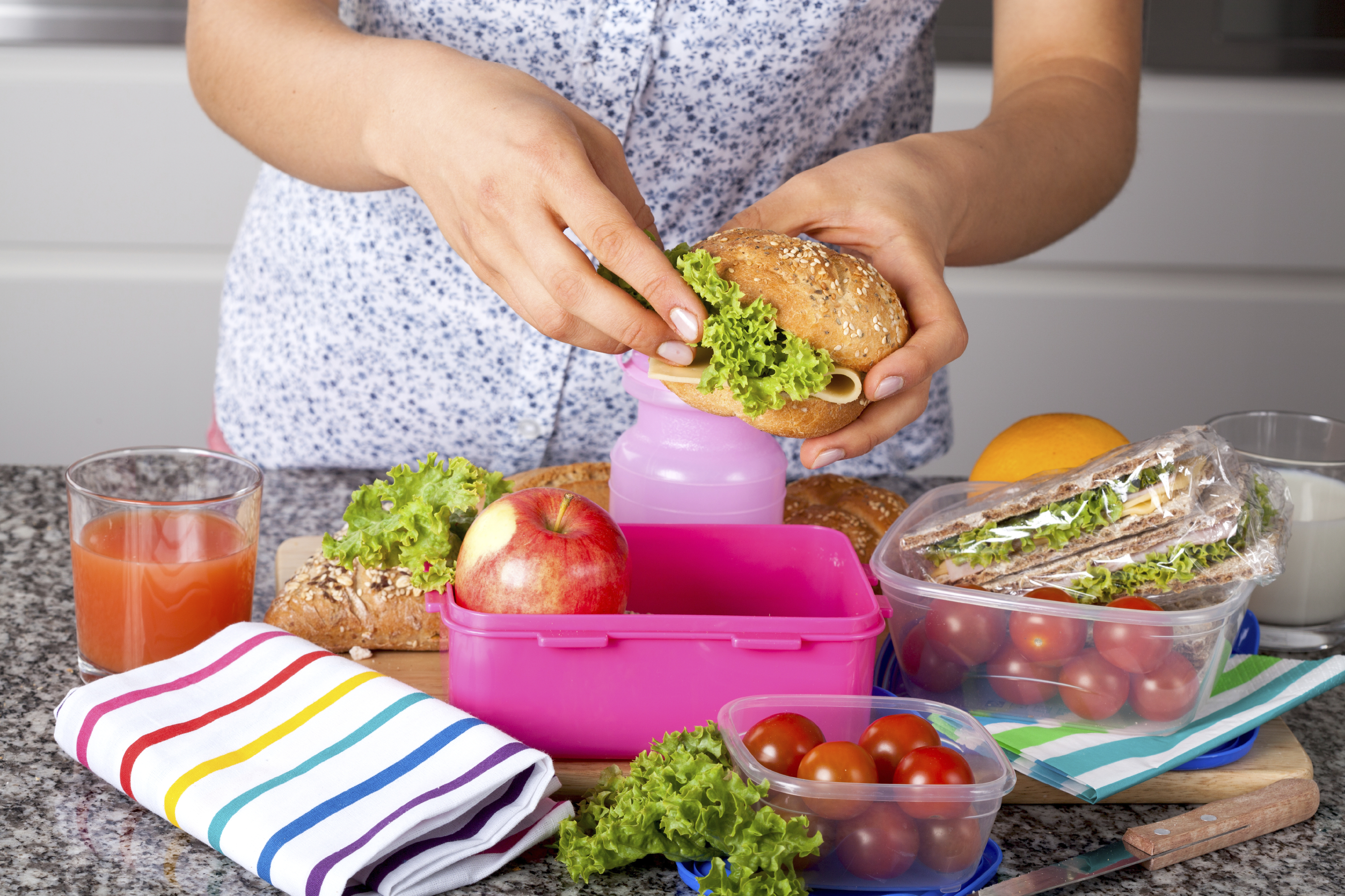 The Do's and Don'ts of a Healthy Lunch Box