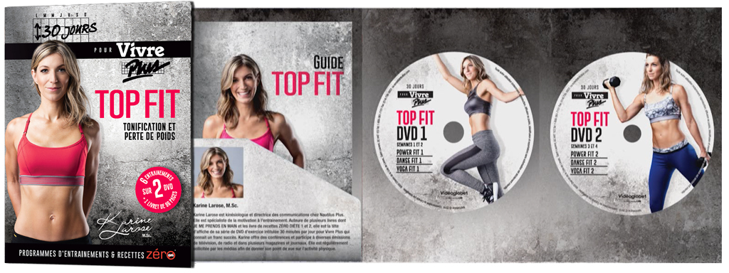 TOP FIT in 30 Days: Karine Larose's New DVD Set