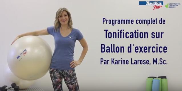 Programme d'exercice complet sur ballon
