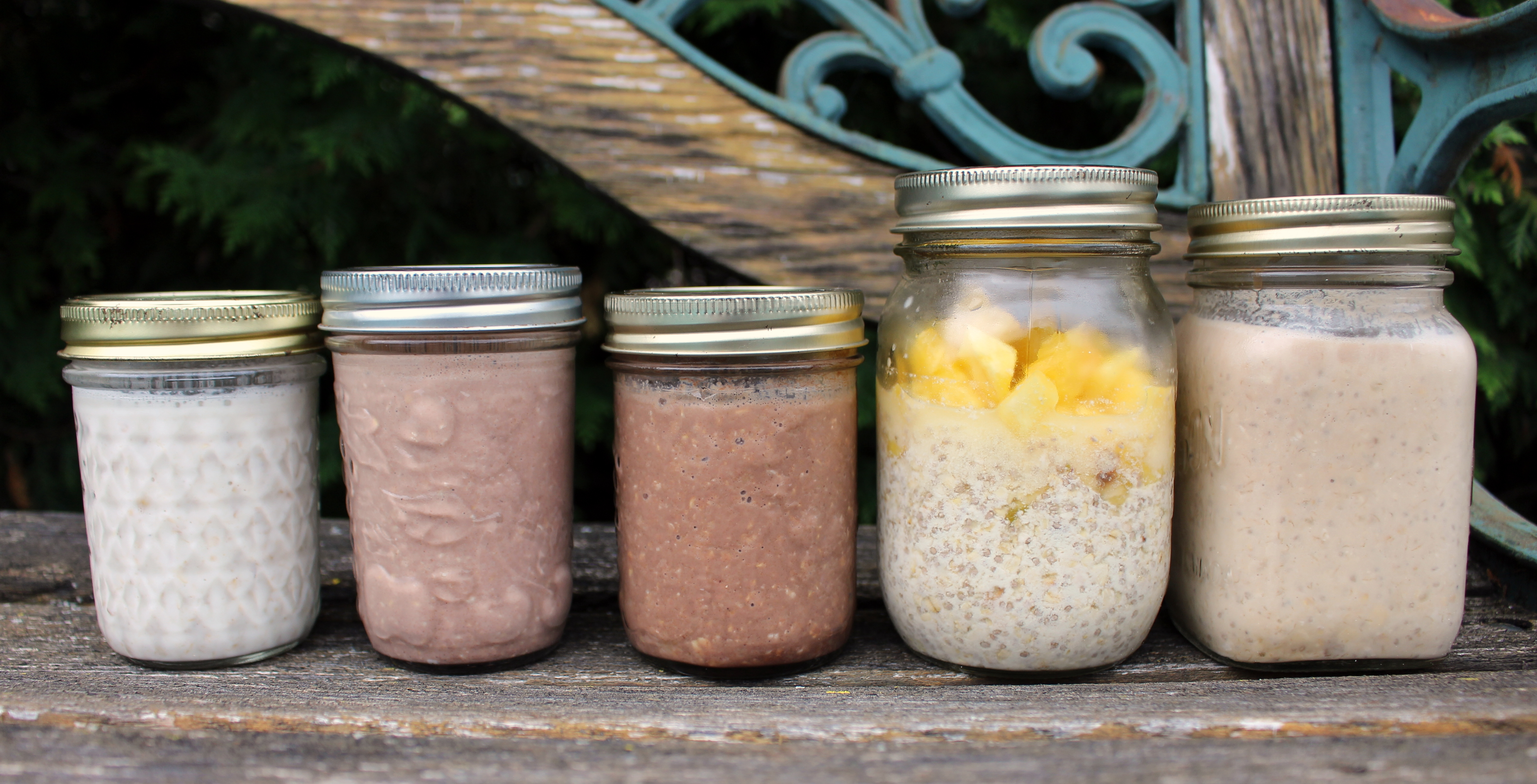 Refrigerator Oatmeal? You bet!