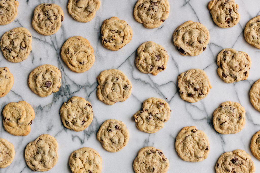 Vue sur biscuits