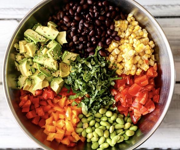 salade-mexicaine-flatlay