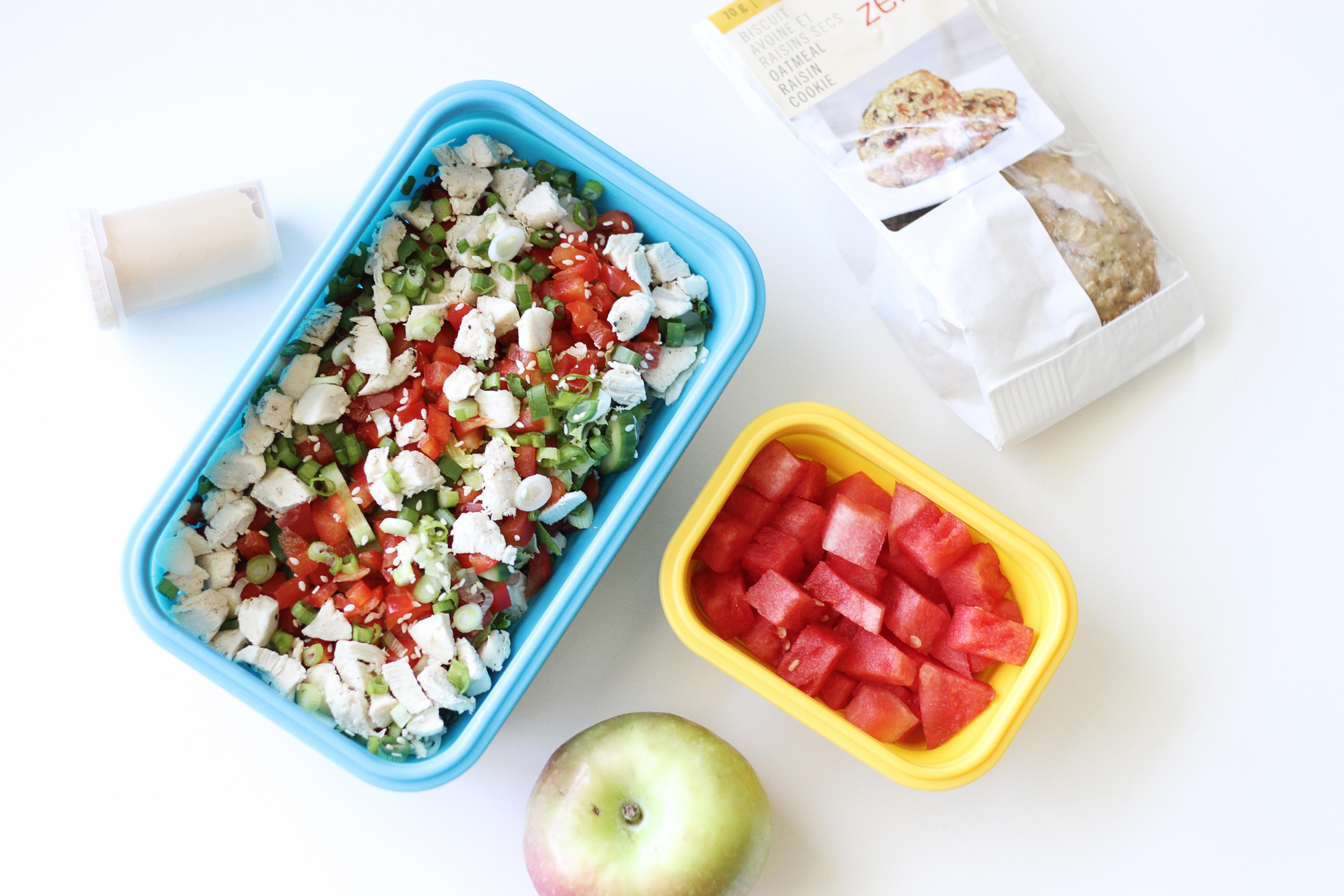 Éloge aux lunchs santé