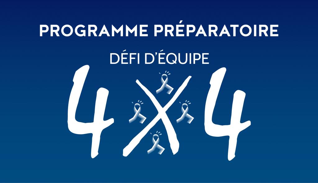 programme preparatoire defi d equipe 4x4