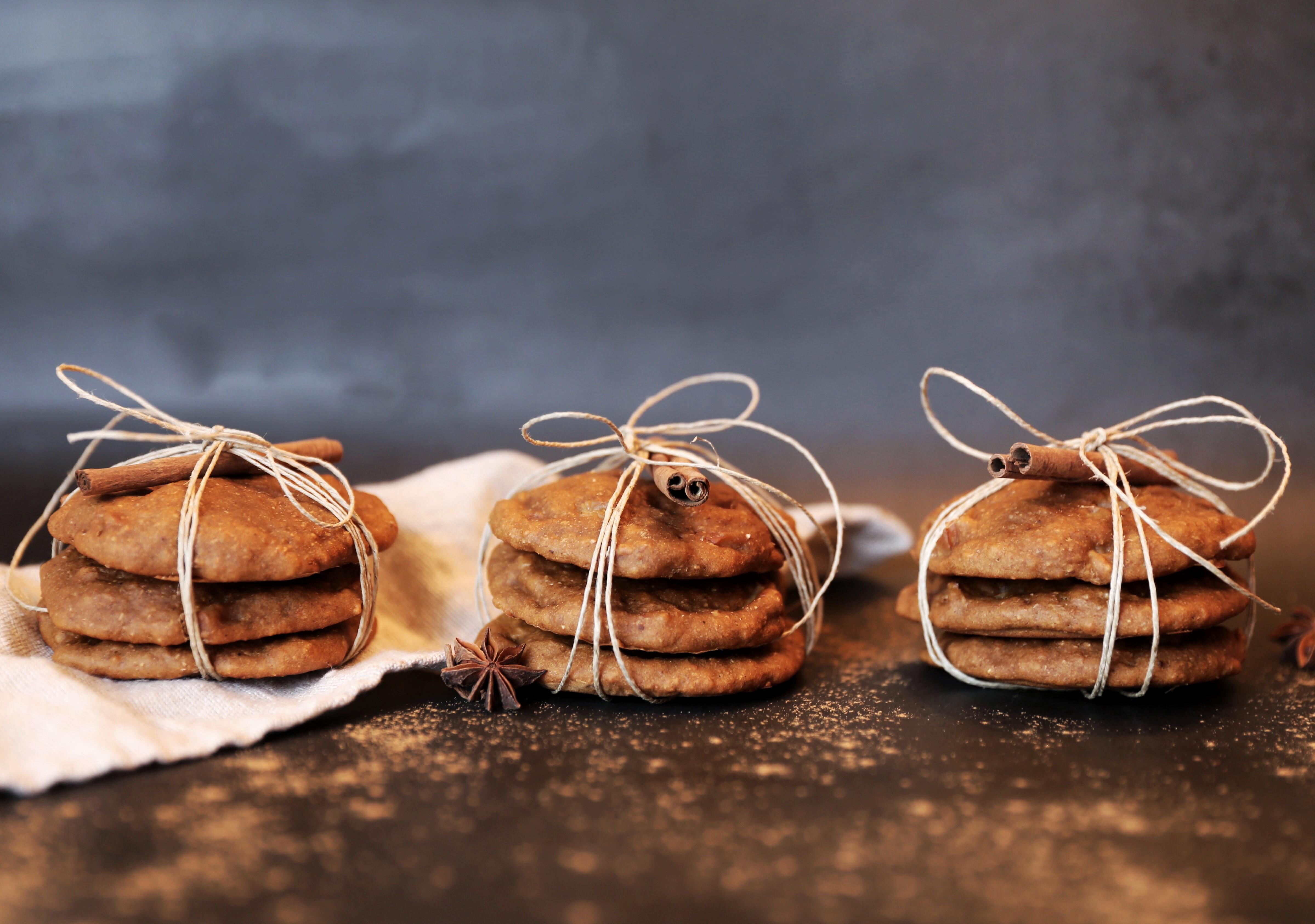 Dessert de Noël – biscuits aux poires et épices