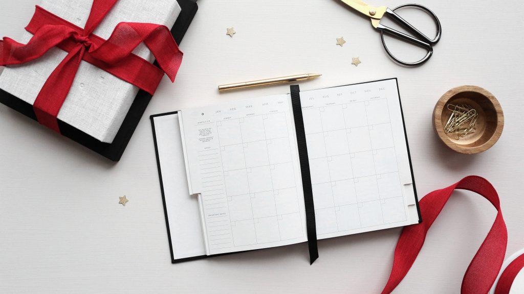 planification pour gérer le stress du temps des fêtes