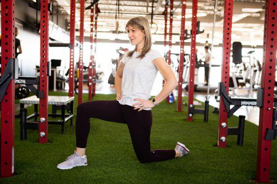 étirement fléchisseur de la hanche