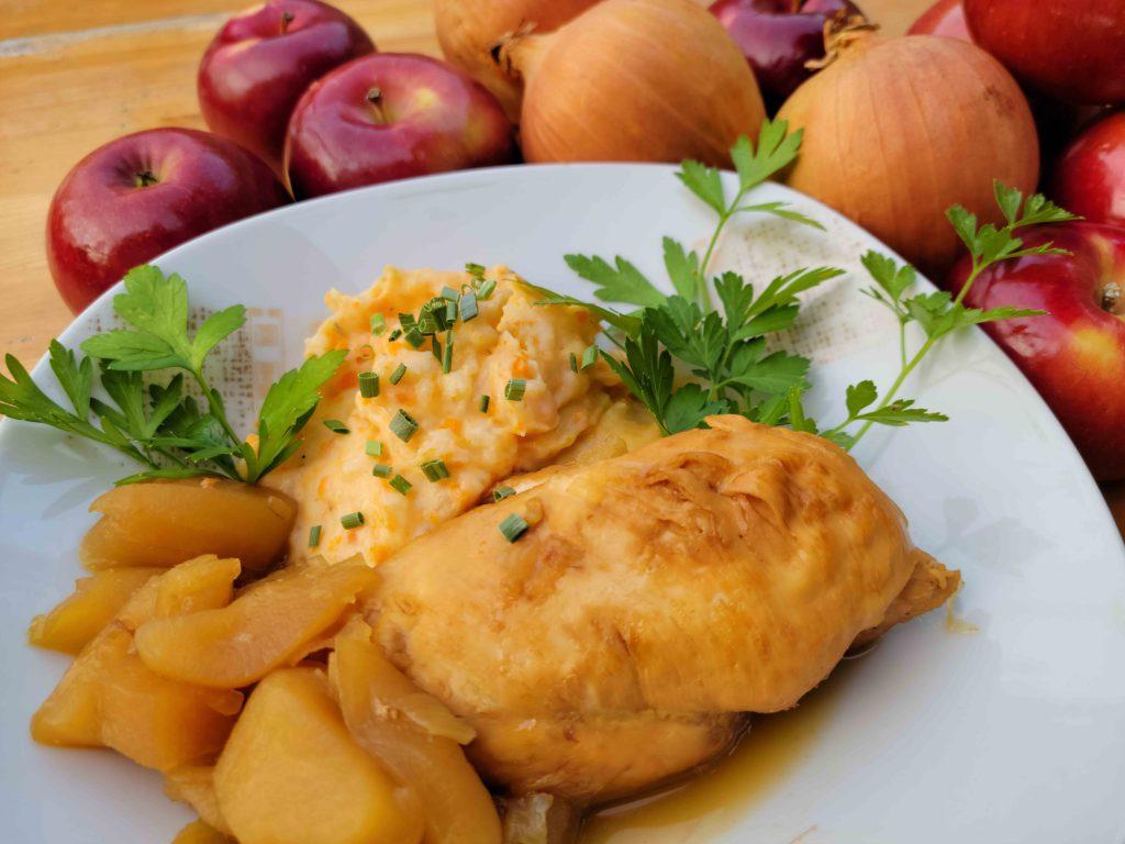 poulet-aux-pommes